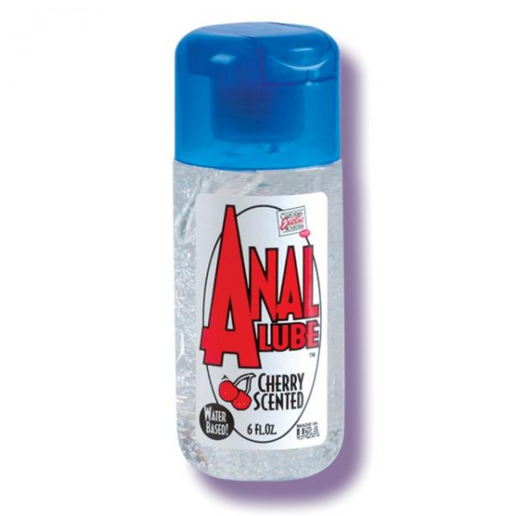 Anal Lube Cherry Scented 6 Fl Oz - Anal Lubricants