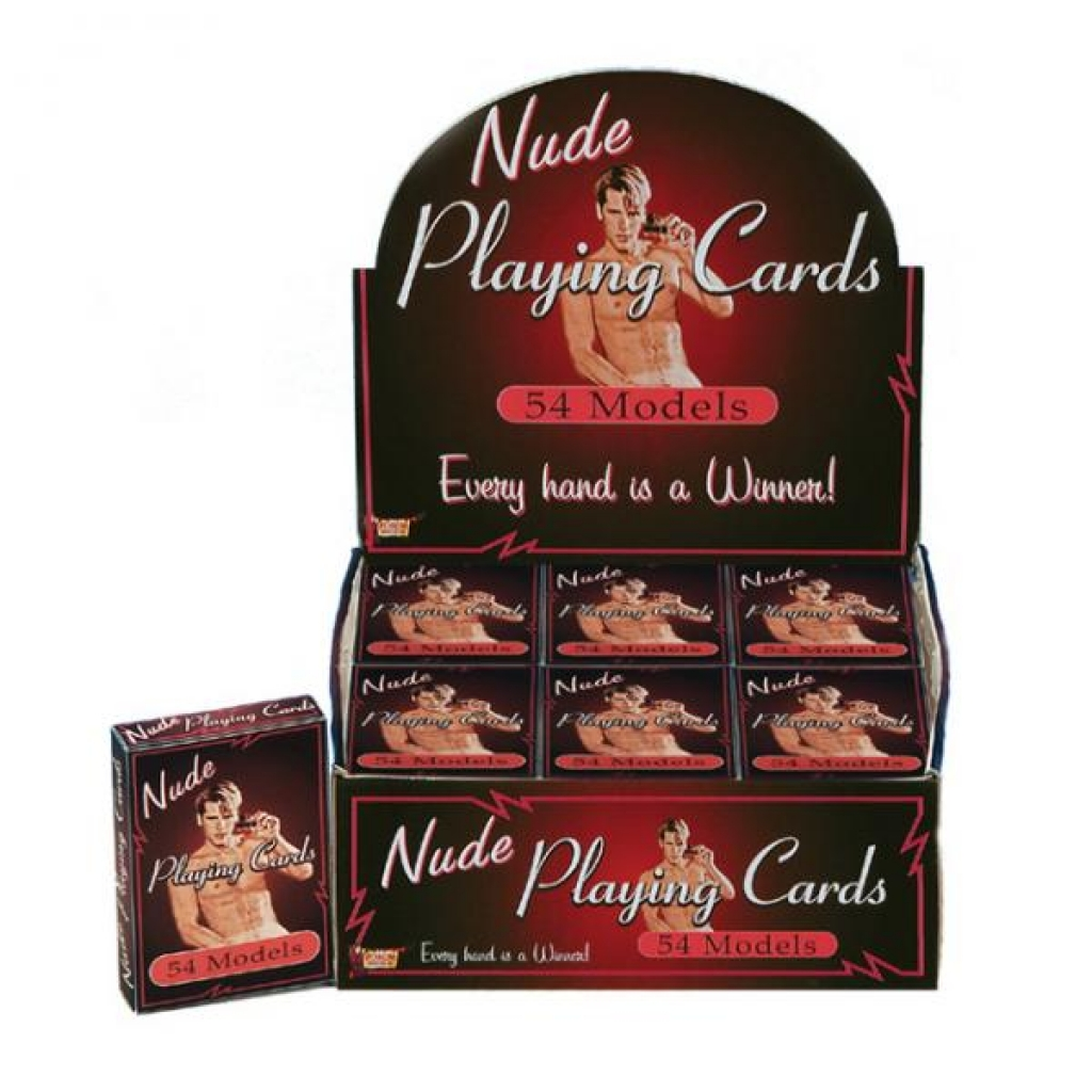 Nude Male Playing Cards (display) - Hot Games for Lovers