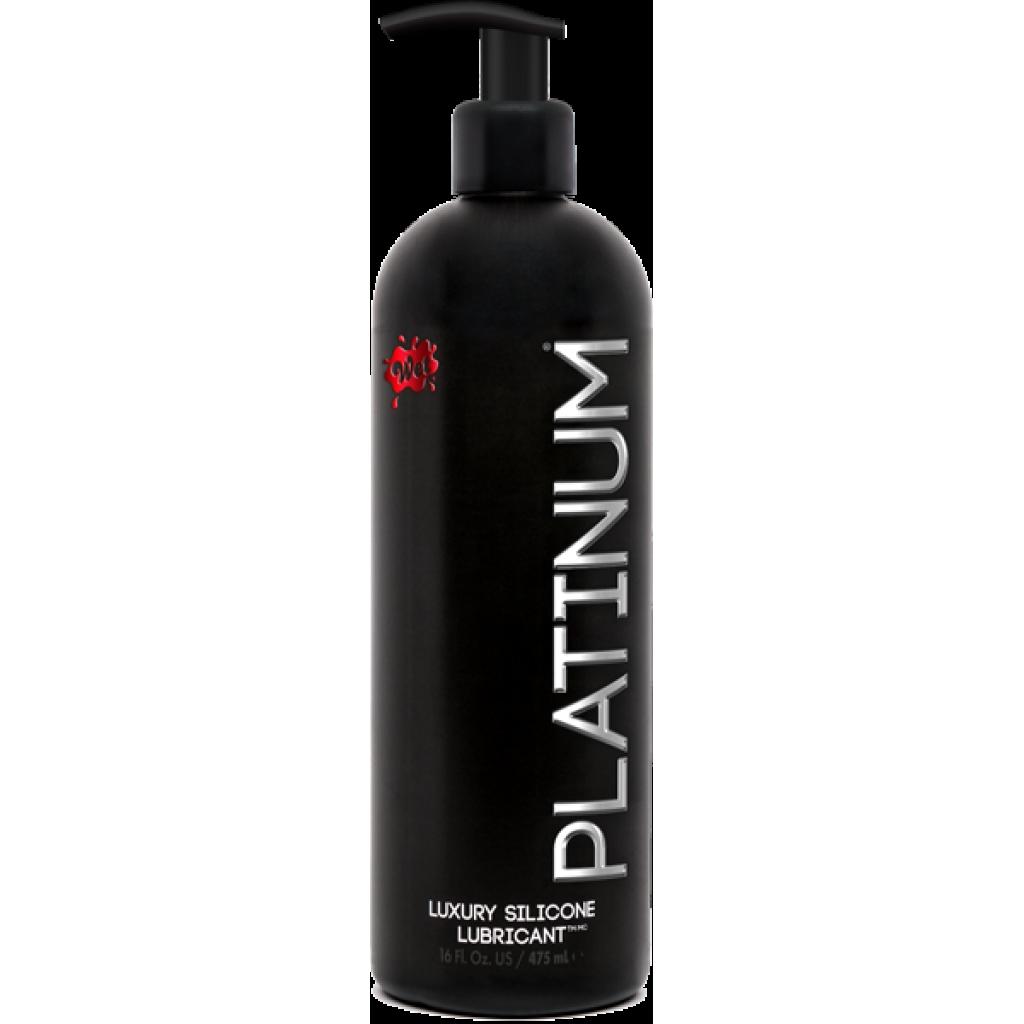 Wet Platinum Silicone Based Lubricant 15.7oz - Lubricants