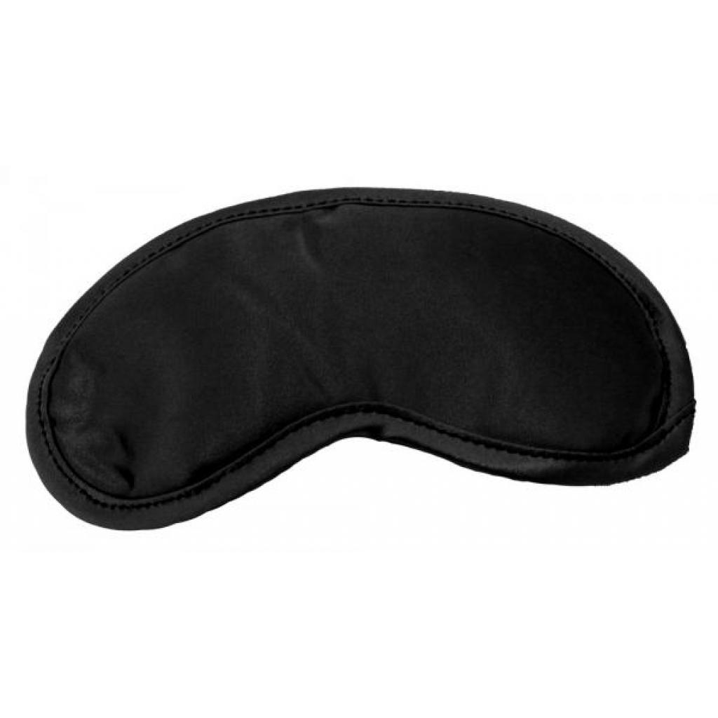 Satin Blindfold Black - Blindfolds