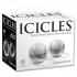 Icicles No 42 Medium Glass Ben Wa Balls Clear - Ben Wa Balls
