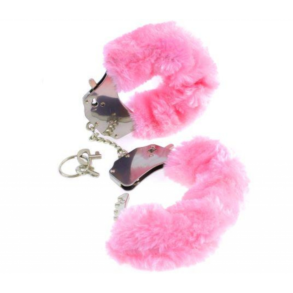 Fetish Fantasy Original Furry Cuffs Pink - Handcuffs