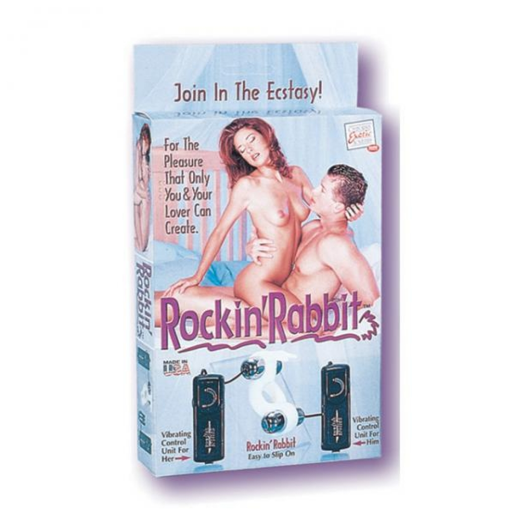 Rockin' Rabbit - Couples Vibrating Penis Rings